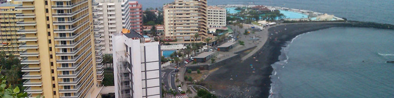 Alojarse en Puerto de la Cruz
