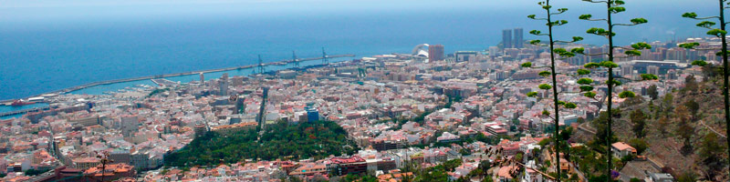 Alojarse en Santa Cruz de Tenerife